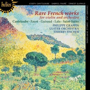 Seltene Französische Werke Für Violine & Orchester