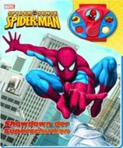 Spiderman. Pappbilderbuch mit abnehmbaren Geräuscharmband