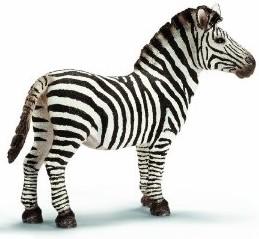 Schleich 14391 - Wild Life: Zebra Hengst - zum Schließen ins Bild klicken