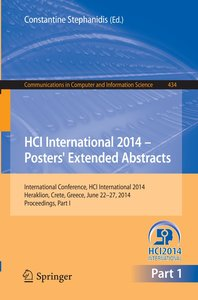 HCI International 2014 - Posters' Extended Abstracts