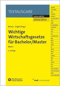 Wichtige Wirtschaftsgesetze für Bachelor 2