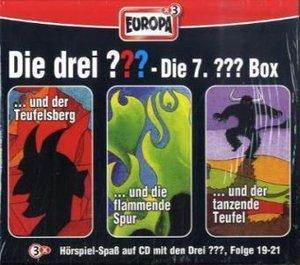 Die drei ??? Box 07. Folgen 19-21 (drei Fragezeichen). 3 CDs