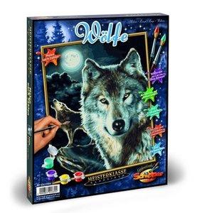 Schipper Malen nach Zahlen - Wölfe