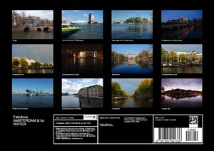 Fabulous AMSTERDAM & its WATER (Poster Book DIN A4 Landscape)