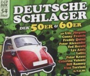 Deutsche Schlager 50er & 60er (3er-Box)