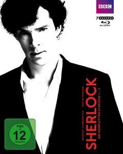 Sherlock-Staffel 1 und 2 (Boxset)