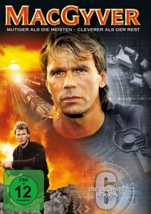 MacGyver - Season 6 (6 Discs, Multibox)