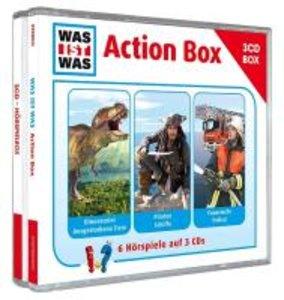 """WAS IST WAS 3-CD-Hörspielbox """"Action und Abenteuer"""""""