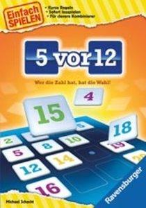 Ravensburger 26558 - 5 vor 12