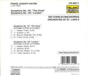 Sinfonien 101 & 104