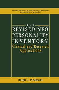 The Revised NEO Personality Inventory