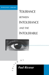 Tolerance Between Intolerance and the Intolerable