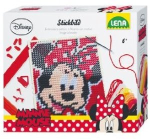 Simm 42606 - Lena: Stickbild Disney Minnie 2