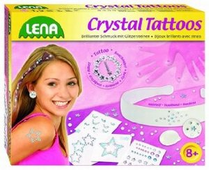 Simm 42428 - Lena: Crystal Tattoos