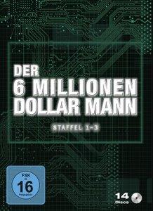 Der sechs Millionen Dollar Mann-Box Staffel 1-3