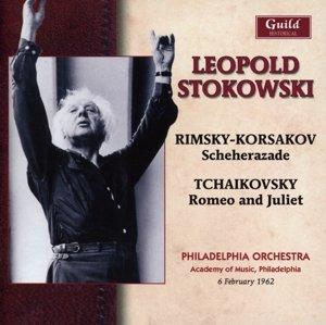 Stokowski dirigiert Rimsky-Korsakow u Tschaikowski