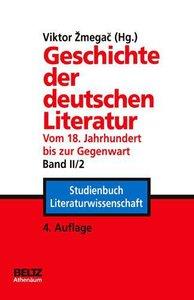 Geschichte der deutschen Literatur Band II/2