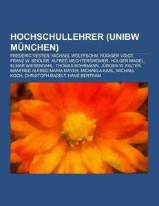 Hochschullehrer (UniBw München)
