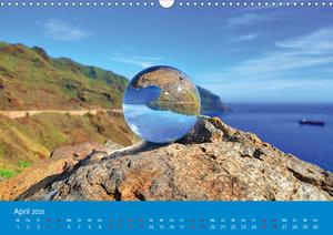 Mystische Kugelfotografie - mit der Glaskugel auf Teneriffa