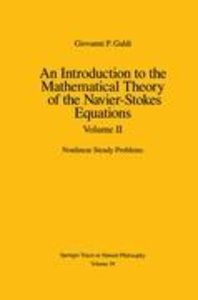 An Introduction to the Mathematical Theory of the Navier-Stokes