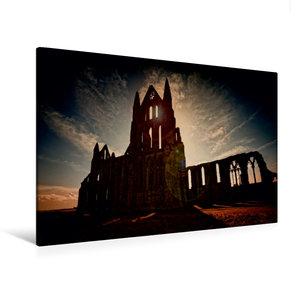 Premium Textil-Leinwand 120 cm x 80 cm quer Gothic Fantasy - Sch