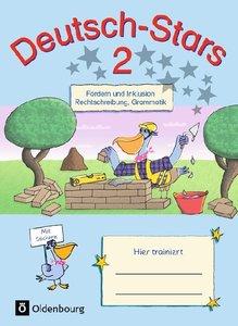 Deutsch-Stars - Allgemeine Ausgabe. 2. Schuljahr - Fördern und I