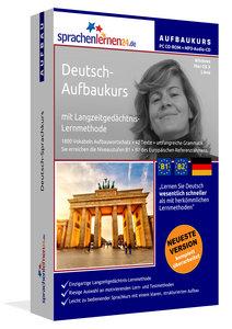 Deutsch-Aufbaukurs, PC CD-ROM mit MP3-Audio-CD