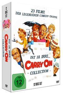 Ist Ja Irre-Carry On Deluxe Collection (12 DVDS)