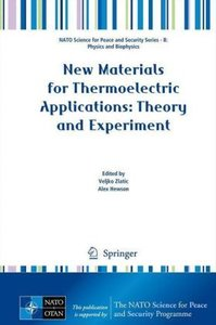 New Materials for Thermoelectric Applications: Theory and Experi