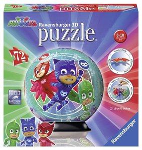 Ravensburger 11797 - PJ Masks, 3D Puzzle