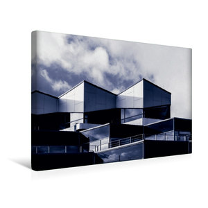 Premium Textil-Leinwand 45 cm x 30 cm quer Damp