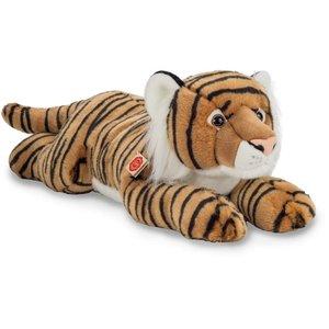 Teddy Hermann 90468 - Tiger liegend, braun 70 cm, Plüschtier