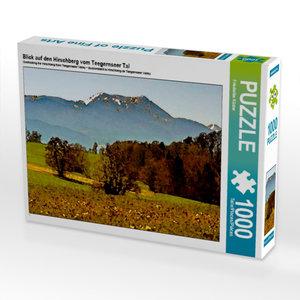 Blick auf den Hirschberg vom Teegernseer Tal 1000 Teile Puzzle q