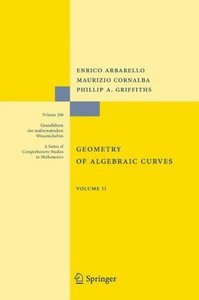 Geometry of Algebraic Curves