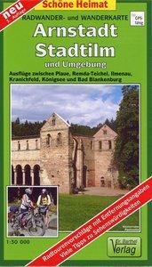Arnstadt, Stadtilm und Umgebung 1 : 35 000