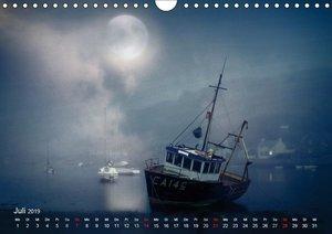 Mondnacht (Wandkalender 2019 DIN A4 quer)