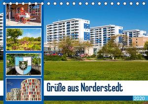 Grüße aus Norderstedt (Tischkalender 2020 DIN A5 quer)