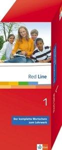 Vokabel-Lernbox zu Red Line1. 5. Schuljahr