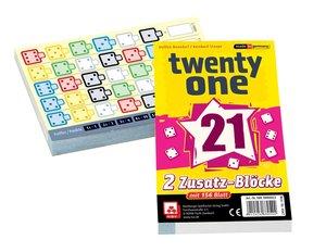 Twenty One Ersatzblöcke 2er Set
