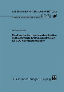Fluidmechanisch und elektrophysikalisch optimierte Entladungsstr