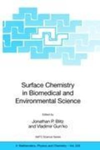 Surface Chemistry in Biomedical and Environmental Science