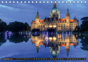 Hannover 2019 (Tischkalender 2019 DIN A5 quer)
