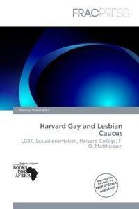 HARVARD GAY & LESBIAN CAUCUS