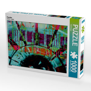 Fenster 1000 Teile Puzzle quer