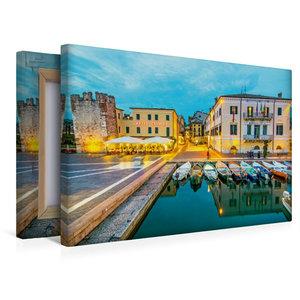 Premium Textil-Leinwand 45 cm x 30 cm quer Bezauberndes Bardolin