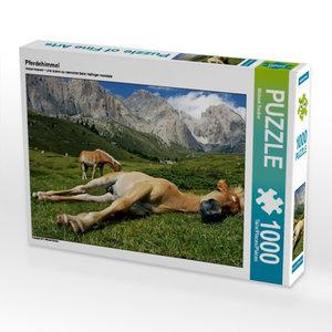 Pferdehimmel 1000 Teile Puzzle quer
