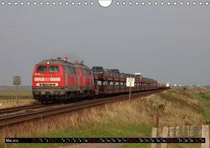 Norddeutsche Eisenbahnen (Wandkalender 2019 DIN A4 quer)