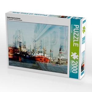 Hafenimpressionen 2000 Teile Puzzle quer