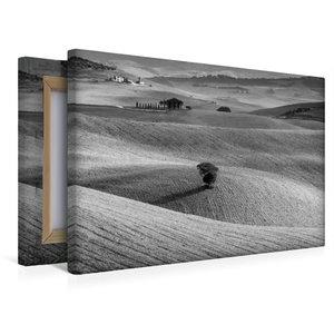 Premium Textil-Leinwand 45 cm x 30 cm quer Solitaire im Val d\'O