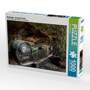 Rostlaube - Vauxhall Cresta 1000 Teile Puzzle quer